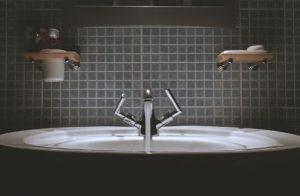 Elegantes Waschbecken